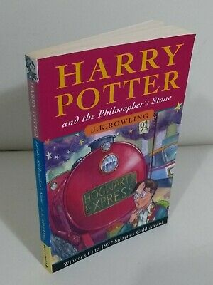 Harry Potter & The Philosopher's Stone 1st Edition 33rd Print Paperback