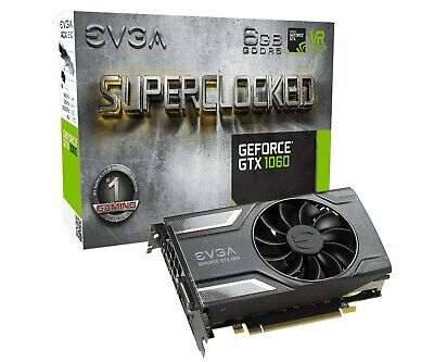 EVGA GeForce GTX 1060 6GB SC GAMING - 06G-P4-6163-KR !!!!!!!!!Top Zustand!!!!!!!