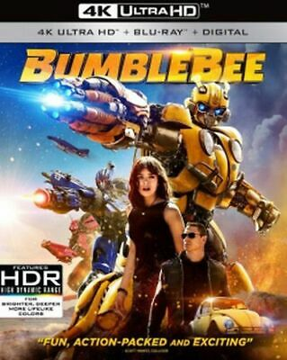 Transformers: Bumblebee 4K Ultra HD Blu-ray/Blu-ray/Digital Copy NEW