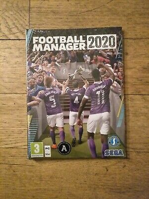 Football Manager 2020 (PC)  BRAND NEW AND SEALED