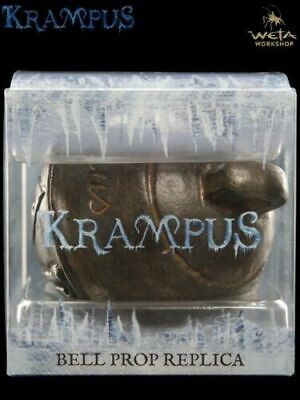 New by Weta Collectibles Krampus Movie 1:1 Bell Prop Replica Christmas ornament