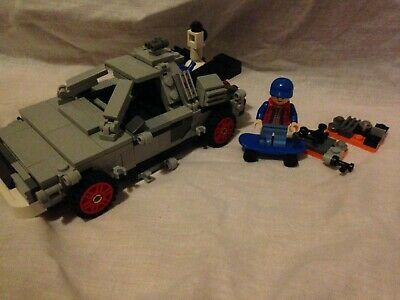 LEGO 21103 Back To The Future With SHEILD Spelling Mistake Spares Not Complete