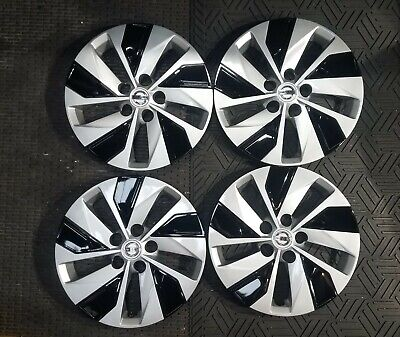 """1 New Set 2019 19 2020 20 Altima 16"""" Hubcaps Wheel Covers 53099"""