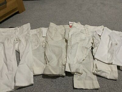 Girls Next Age 3 Years White Trousers