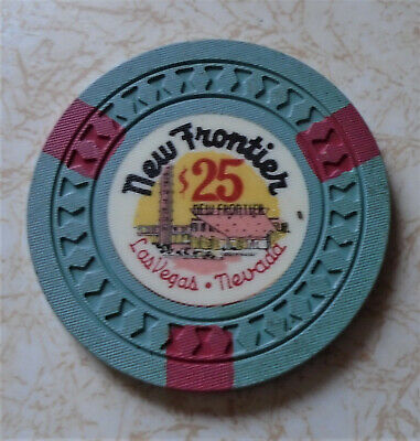 Obsolete, Early New Frontier, Las Vegas $25.00 Casino Chip