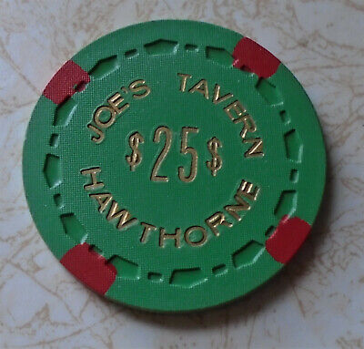 Obsolete, Early Joes Tavern, Hawthorne, NV $25.00 Casino Chip