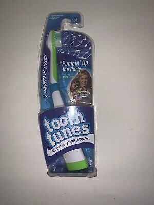 Tooth Tunes Battery Powered Toothbrush, Hannah Montana - Miley Cyrus Vintage