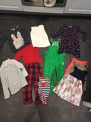 Girls bundle 4-5, 13 Items, Next Jumper / Waterproof Trousers / Pyjamas