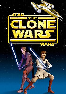 "STAR WARS THE CLONE WARS 11""x17"" TV SERIES POSTER PRINT #1"