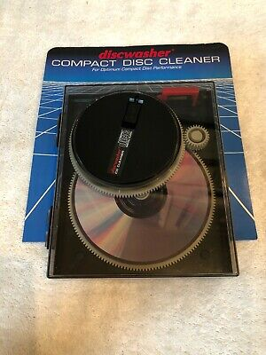 Vintage Discwasher CD Cleaner Compact Disc Digital Audio ~  Made in USA ~ 1985