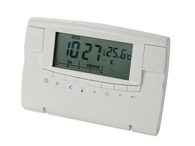 Thermostat & Piped Edge LCD Screen with Programmes Heater Climate 5 to 30°C