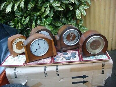 Vintage  Clock Parts  ,   Movements  For Mantle Clock  For Spare Or Repair