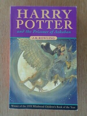 Harry Potter and The Prisoner Of Azkaban - 1999 First Edition First Printing P/B