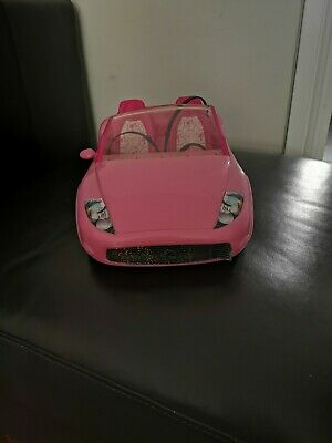BARBIE CONVERTIBLE PINK  CAR by Mattel 2010.. Xmas see other items