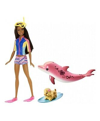 Barbie Dolphin Magic Barbie Doll with Snorkel Mask and Fins