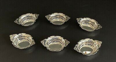 Vintage Set of 6 Gorham Sterling Silver Candy/Nut Dishes A4780