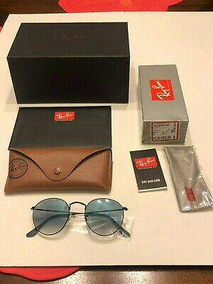 New Ray-Ban Round Metal RB3447 50MM 006/3F Sunglasses