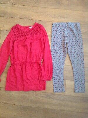 Next Girls Long Sleeved Top And Leggings 7 Years Outfit