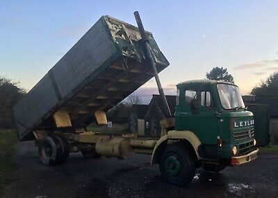 1978 Leyland Clydesdale tipper