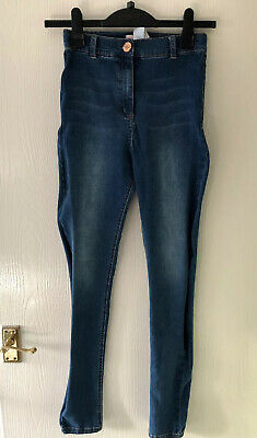 "Jeans Age 16 Years. Skinny Slim Legs. By Next. L30"".Stretch.Blue.Teenage Girl"