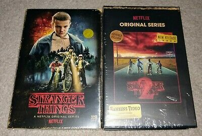 Stranger Things Season 1 & Season 2 Blu-ray & DVD - Collector's Edition