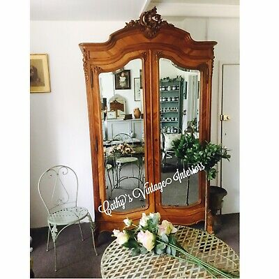 vintage french armoire wardrobe