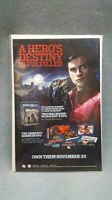 RARE Smallville Tom Wellings: Superman Print Ad A Hero's Destiny is Fulfilled
