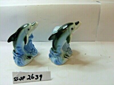 dolphins salt and pepper shakers