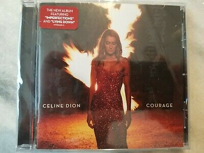 """2019 Celine Dion """"COURAGE"""" CD Brand New and Sealed in original case!!!"""