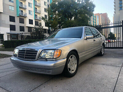 1998 Mercedes-Benz S-Class S500 1998 Mercedes-Benz S500...W140...Great Condition...Ice Cold Air...No Reserve..Fl
