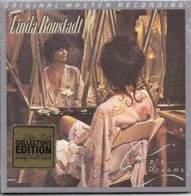 LINDA RONSTADT:Simple Dreams-Dolly Parton/Don Henley-MFSL/MOFI 24kt GOLD-#D-OOP!