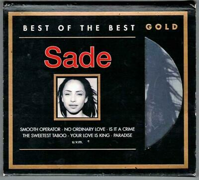SADE:Best Of The Best-Limited Edition 24kt GOLD-2005 Sony Germany-SBM-RARE/OOP!
