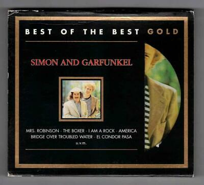 SIMON AND GARFUNKEL:Greatest Hits-Best Of The Best-24kt GOLD-Sony Germany-RARE!
