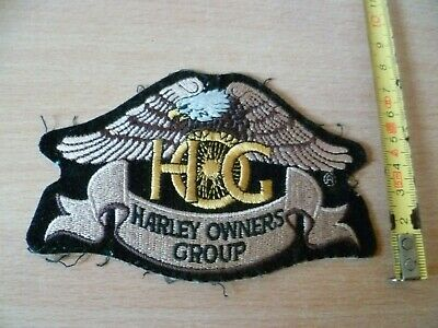 (B32)  Ecusson De Motard Biker Moto Harley Owners Group