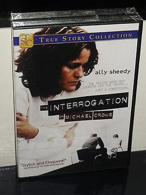 The Interrogation Of Michael Crowe (DVD) Mark Rendall, Ally Sheedy, BRAND NEW!