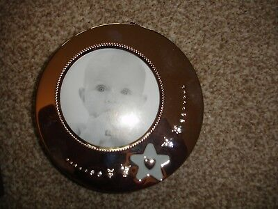 Christening Gift Baby Photo Frame, Papyrus