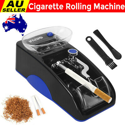 Cigarette Rolling Machine Automatic Tobacco Tubes Injector Electric Roller Case