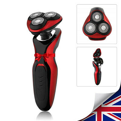 Electric Shaver Mens Razor Wet Dry Rotary Shaver Rechargeable Cordless AU Store