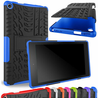 For Amazon Kindle Fire HD 8 2018 8th Generation Cover Rugged Stand Tablet Case
