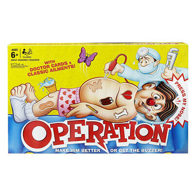 Operation Kids Family Classic Board Game Fun Childrens Xmas Gifts Toys New
