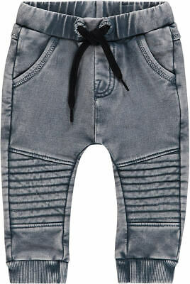 NOPPIES Jogginghose Jogger Sweatpants denim Look grau Jungs
