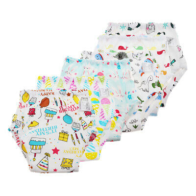 Baby Boys Girls Toilet Pee Pants Cloth Diaper Nappy Underwear