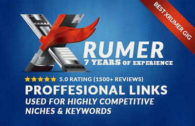 Create 35000 Xrumer Links For Professional SEO- Standard Package
