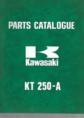 Parts List KAWASAKI KT-250-A 1974 99997-661