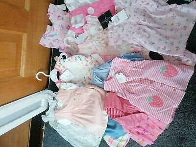 Baby girl clothes0-3 3-6 months bundle new
