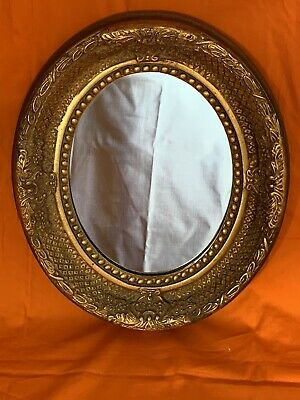 Gilt Oval Mirror Frame Gold Escape To The Chateau Repro Louis Rococo Vintage