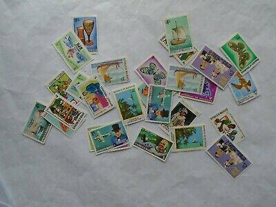 Maldive Islands  Postage Stamps as shown in picture