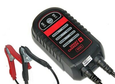 Automatic Car Battery Charger Electronic 4A WET/GEL/MF/AGM 6V/12V Smart Charger