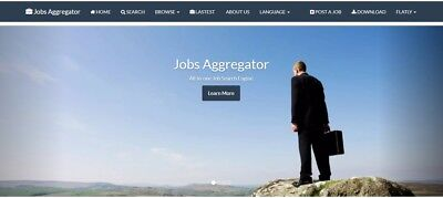 All in one home business-Jobs Aggregator, hosting, domain, app, seo