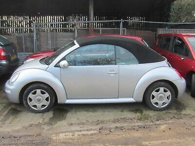 Volkswagen Beetle 1.6 Petrol Conv. Manual 2005, Incomplete - Spares Or Repair